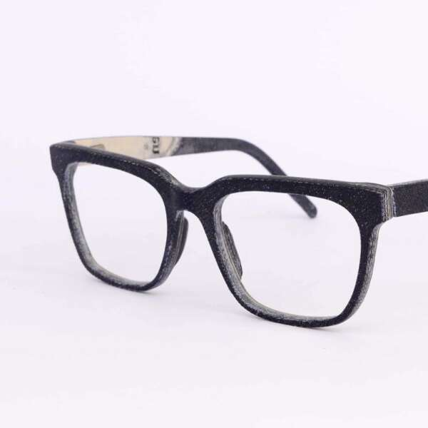 Upcycling idee Jeans Brille