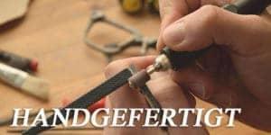 Upcycling Jeans brille handgefertigt