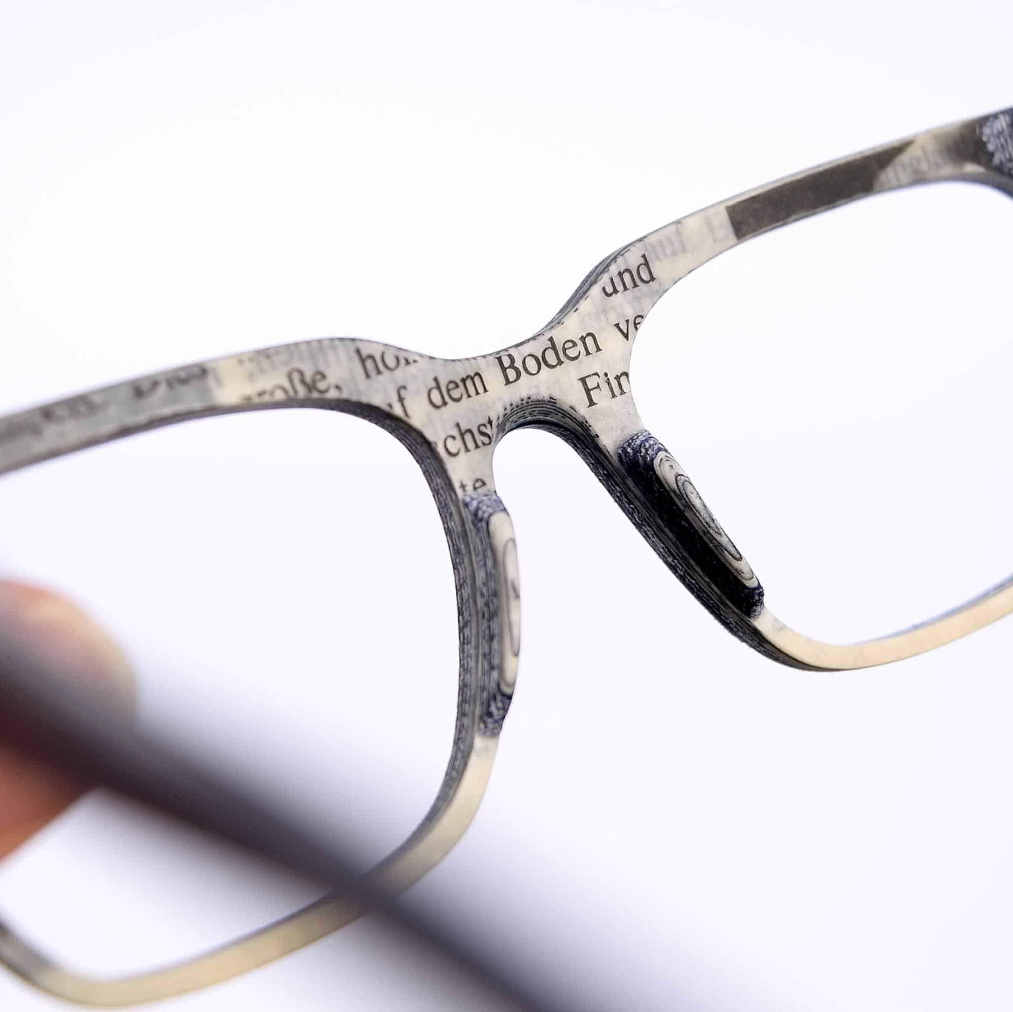 Upcycling Brille von Innenansicht